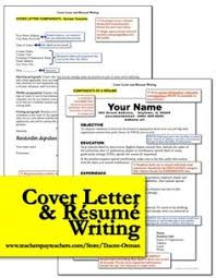 images about resume on pinterest   teacher resumes  teaching    résumé and cover letter writing  this bundle is not just for students  if you need help writing your résumé and letter of application  i included a sample