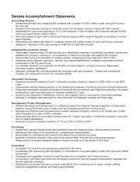 examples of accomplishments for resumes template examples of accomplishments for resumes