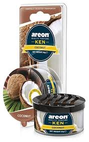 <b>AREON Ароматизатор для автомобиля</b> Ken Blister Coconut ...