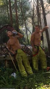 firefighters strip off for firefighter s calendar remember to hydrate every firefighter knows how important hydration is during a hard day s work