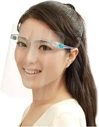 Full Face Protective Shield <b>Visor</b>, Plastic <b>Adjustable Transparent</b> ...