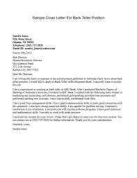 cover letter of bank teller position cover letter examples good cover letter for teller position resume sample