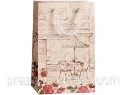 <b>Пакет подарочный</b> малый <b>Кафе</b> 23*15 см: продажа, цена в ...