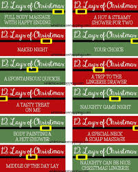 printable 12 lays of christmas coupons for couples to be nice printable 12 lays of christmas coupons this is just more comical to me than anything but you know any husband out there would love this more