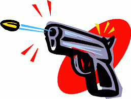 Image result for thug shooting cartoon