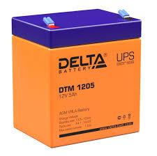 <b>Батарея Delta DTM</b> 1205