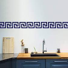 Littledollz Greek Key Wall <b>Stickers</b> Set of 50 Greek <b>Pattern</b> Wall ...