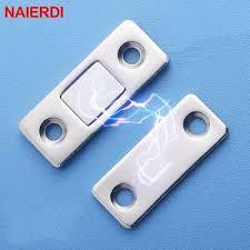 <b>NAIERDI 2pcs/Set Magnetic</b> Cabinet Catches Magnet Door Stops ...