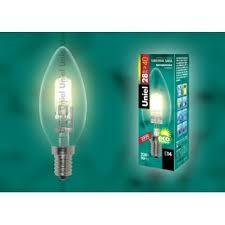 <b>HCL</b>-<b>28</b>/<b>CL</b>/<b>E14 candle Лампа</b> галогенная. Картонная коробка ...