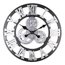 Wall Clock Retro Gear Wall Decoration Creative ... - Amazon.com