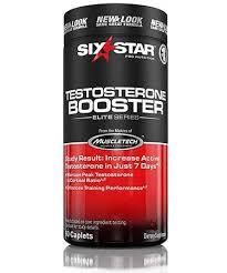 Six Star <b>Six Star Pro Nutrition</b> Testosterone Booster Elite Series 60 ...