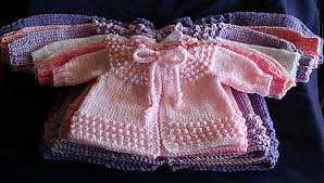 Baby Jiffy Knit Sweater pattern by Cathy Waldie - Ravelry