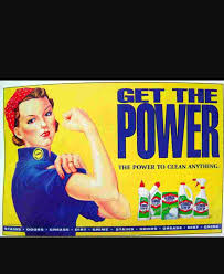 leonar28 tlfranklinuniversity this ad is for clorox cleaning products it advertises how clorox products are great the ad has a bold yellow background the word get the power