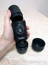 Ручные эспрессо-кофеварки <b>Wacaco</b> Nanopresso и <b>Minipresso</b> ...