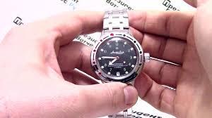 <b>Часы Восток</b> Амфибия 420269 - видео обзор от ...