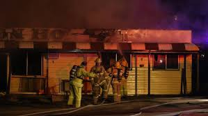police interview two men over junction hotel fire bendigo advertiser the 9 fire at the junction hotel at ravenswood picture peter weaving