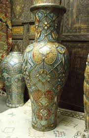 moroccan antique vase one of a kind vase antique pottery antique english country armoire circa 1830s
