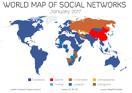 The world's most popular social networks, mapped | World ...