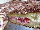 Бисквитный торт со сметанном кремом