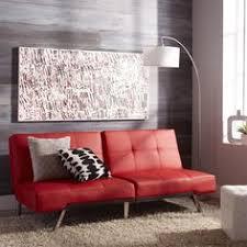 leather futon sleeper sofa contemporary red bonded modern furniture seat new abbysonliving futon cado modern furniture 101 multi function modern