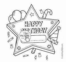 library books kids activities activities school holidays if happy birthday star card coloring page for kids holiday coloring pages printables