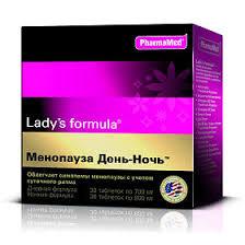 <b>Ледис формула Менопауза День-Ночь</b>, таблетки 30+30 шт ...