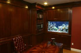 home office aquarium beautiful classic home office