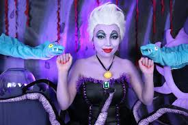 disney 39 s ursula makeup tutorial