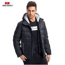 <b>MALIDINU 2019 Men Down</b> Jacket Winter Jackets Down Coat Brand ...