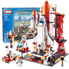 Gudi 8815 <b>679Pcs City Spaceport Space</b> The Shuttle Launch Center ...