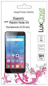 Купить Защитное стекло <b>LuxCase</b> для Xiaomi Redmi Note 4X ...