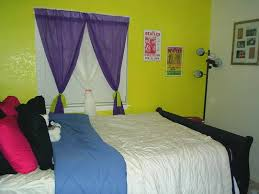 green black mesmerizing: bedroom lime bedroom wall with purple white curtains combined by black wooden bed and white
