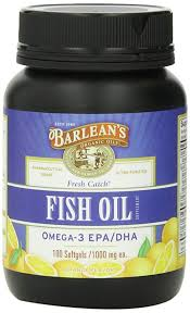 Buy Barlean's Organic Oils <b>Fresh Catch Fish Oil</b>, 100 Softgels /1000 ...