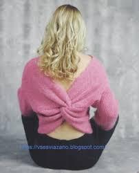 <b>Свитер</b>, <b>джемпер</b>, пуловер - спицами