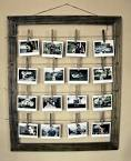 Рамка для фото на прищепках