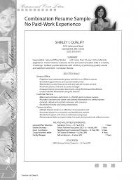 amazing resume job history experience pics order choose sample magnificent resume examples no work experience