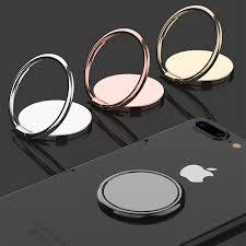 <b>Luxury metal Mobile</b> Phone Socket Holder Universal 360 Degree ...