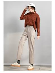 <b>WQJGR</b> Fashion Pants <b>Women</b> Autumn And Winter Trousers ...