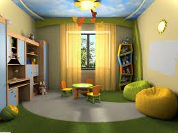 charming beige green wood glass modern design kids bedroom decoration beige wall paint curtain windows green charming kid bedroom design