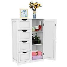 Walgreen® <b>White Wooden</b> 4 Drawer 2 Shelve- Buy Online in ...