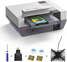 AKNES <b>RETROFLAG</b> Raspberry Pi <b>4</b> Case, <b>NESPi 4</b> CASE with ...