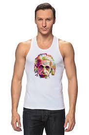 <b>Майка классическая Альберт</b> Эйнштейн (Albert Einstein) #657510 ...