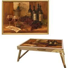 """Столик-<b>поднос</b> Gift'n'Home """"<b>Винтажные вина</b>"""", дерево, 30,5 х 43,5 ..."""