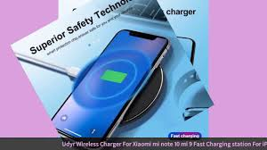 <b>Udyr Wireless</b> Charger For Xiaomi mi note 10 mi 9 Fast Charging ...