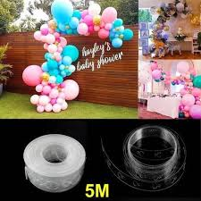 2019 5MBallons Accessories <b>Balloon Chain 110Holes</b> Wedding ...