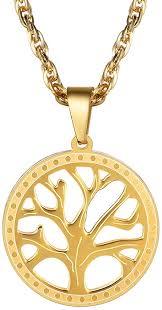 PROSTEEL Tree of Life <b>Pendant</b> Family Tree <b>Necklace</b> Men Women ...