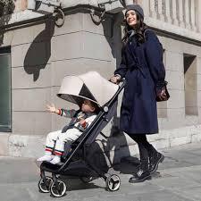 Детская <b>коляска Xiaomi MITU</b> (Rice Rabbit) Folding Stroller ( Белый )