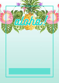 printable moana party invitations musings of an average mom pineapple luau perimeter printable birthday invitation template greetings island