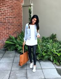 Five Ways To Style <b>Faux Leather</b> Leggings - The Sister Studio in <b>2020</b>