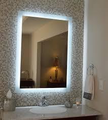 idea mirror bathroom light lighted lights  elegant lighted bathroom mirrors wall hd image pictures ideas